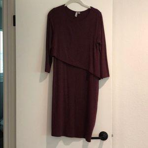 ASOS maternity/nursing sweater dress